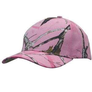 True Timber Pink Camouflage Cap