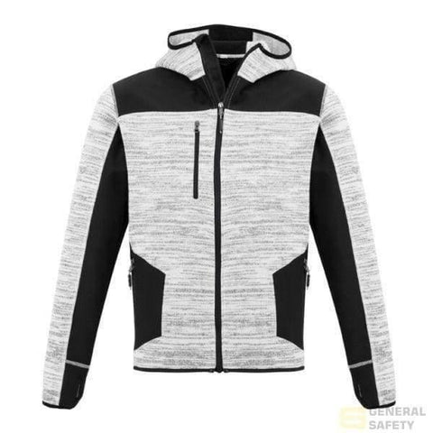 Image of Unisex Streetworx Reinforced Knitted Hoodie Xxs / Grey Hoodies