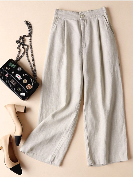 Women Plus Size Loose Comfortbale cotton Pants