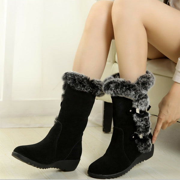 Women Plus Size Snow Boots for Women