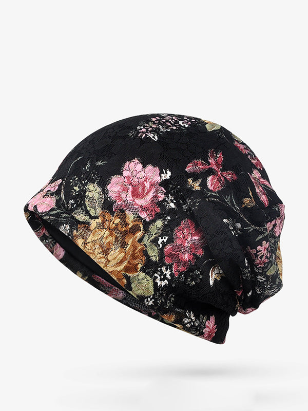 Womens Cotton Flowers Hats