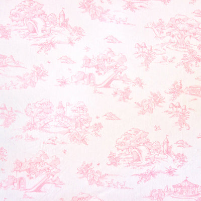 Storyland Pink - Cot Skirt by Maison Nola