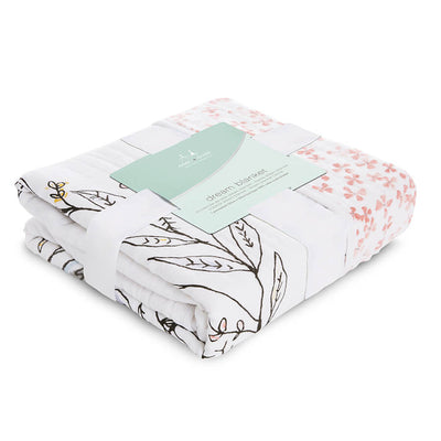 Birdsong Noble Nest - Muslin Dream Blanket by Aden and Anais
