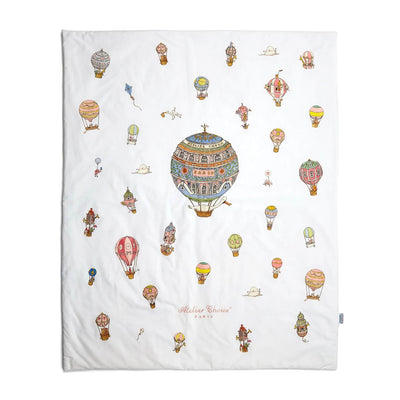 Hot Air Balloons - Quilt Blanket by Atelier Choux