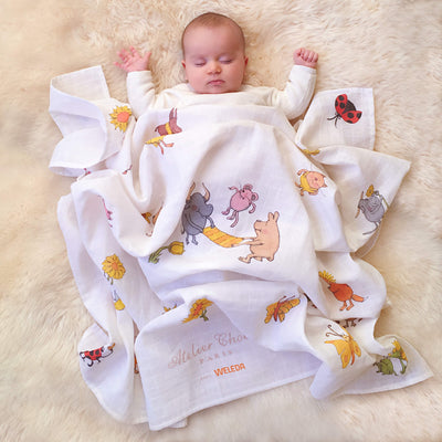 Weleda - Swaddle (Carré) by Atelier Choux