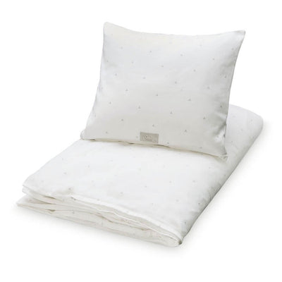 Dot Crème Grey - Cot Doona Cover Set by Cam Cam Copenhagen