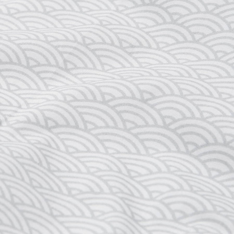 Grey Wave - Cot Sheet by Cam Cam Copenhagen