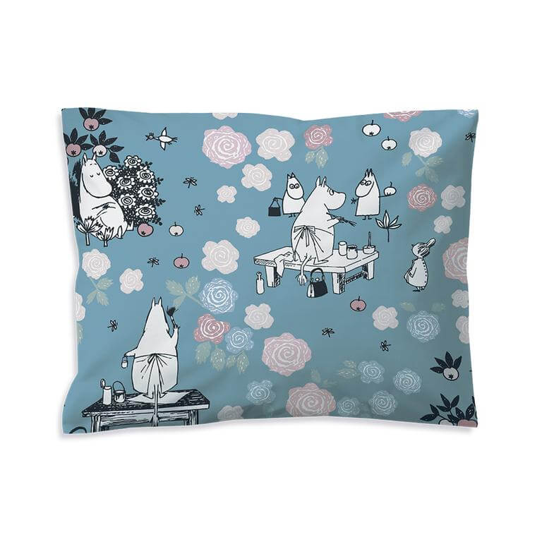 Moominmamma's Rose Garden - Single Doona Cover Set by Finlayson