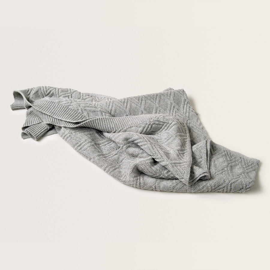 Ollie Grey - Cotton Blanket by Garbo and Friends