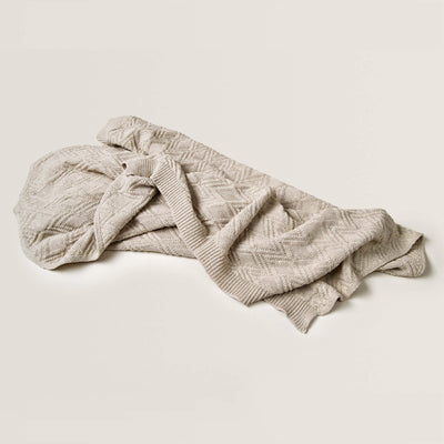 Ollie Sand - Cotton Blanket by Garbo and Friends