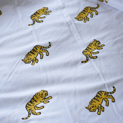 Tiger - Cot Doona Cover Set by Lulu and Nat