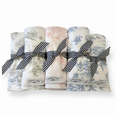 Storyland Pink - Swaddle by Maison Nola
