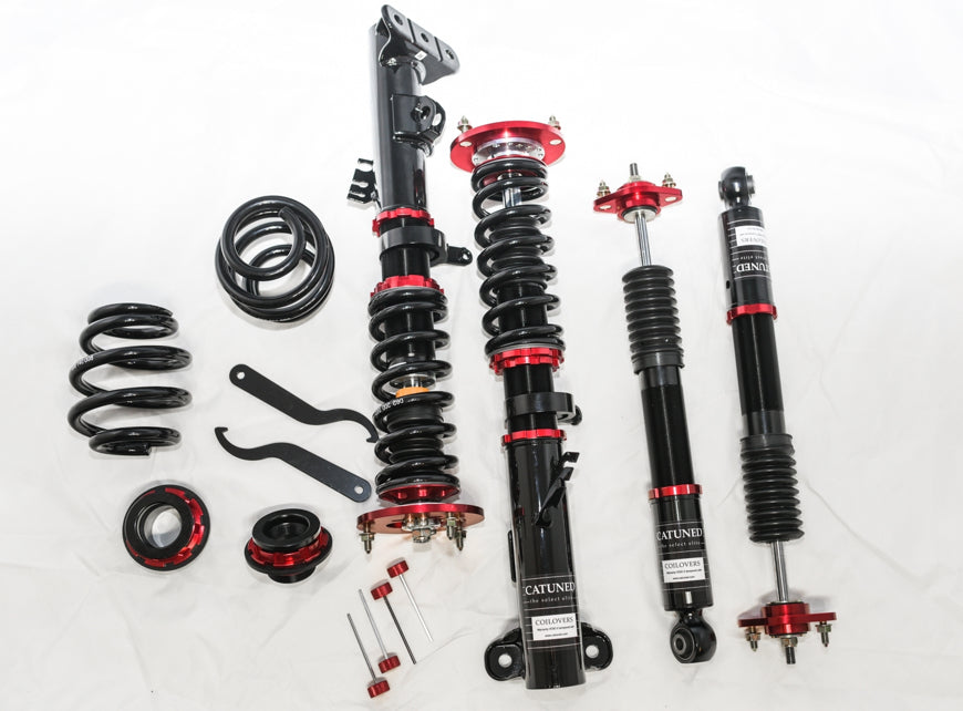 CAtuned Coilover System Street Setup Compatible with BMW E30 System (5 Lug)