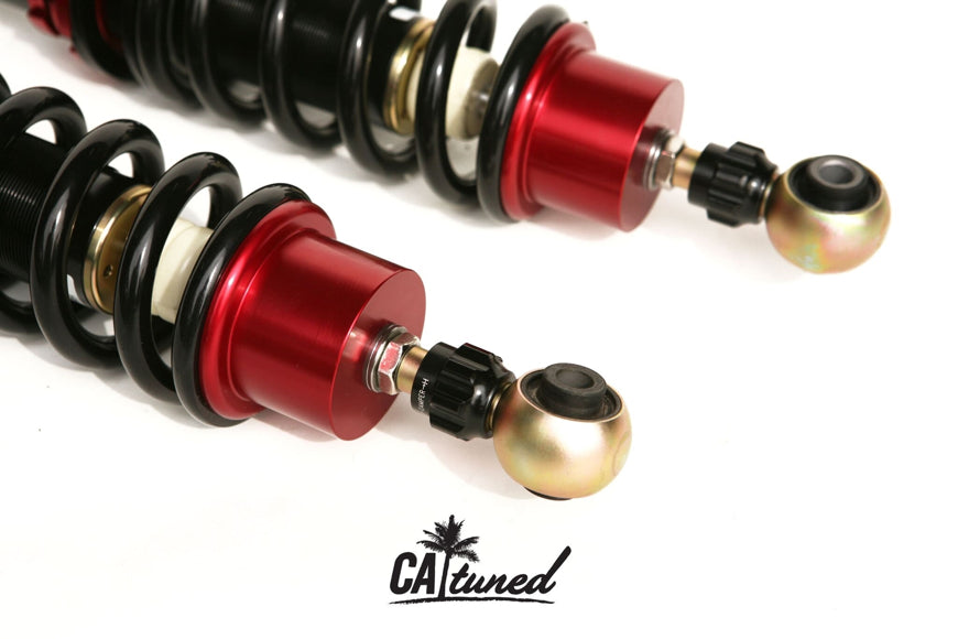 CAtuned Coilover System 5 Lug + Premium Competition Compatible with BMW E30