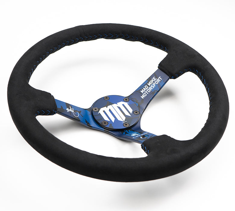 NRG MadMike Steering Wheel RST-020MB-C-MM