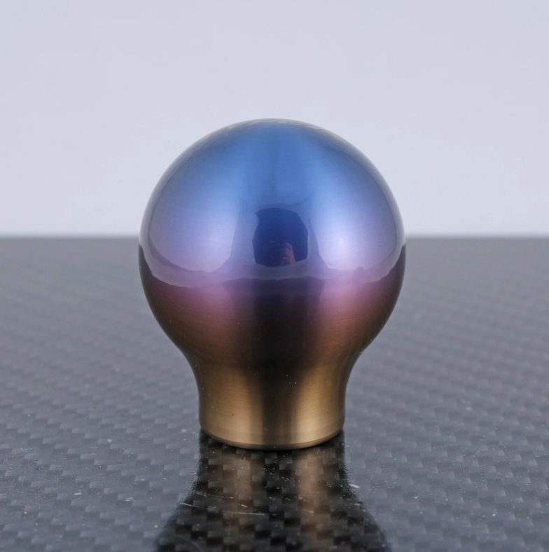 BILLETWORKZ TITANIUM TORCHED SHIFT KNOBS