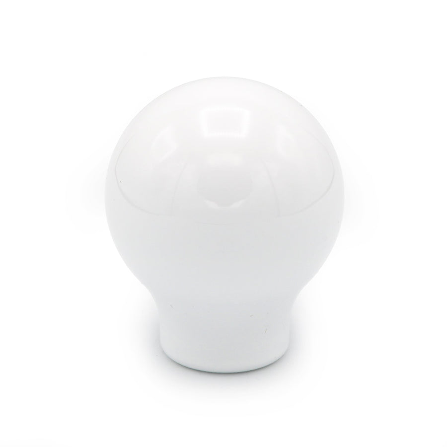 BILLETWORKZ GLOSS WHITE WEIGHTED SHIFT KNOBS