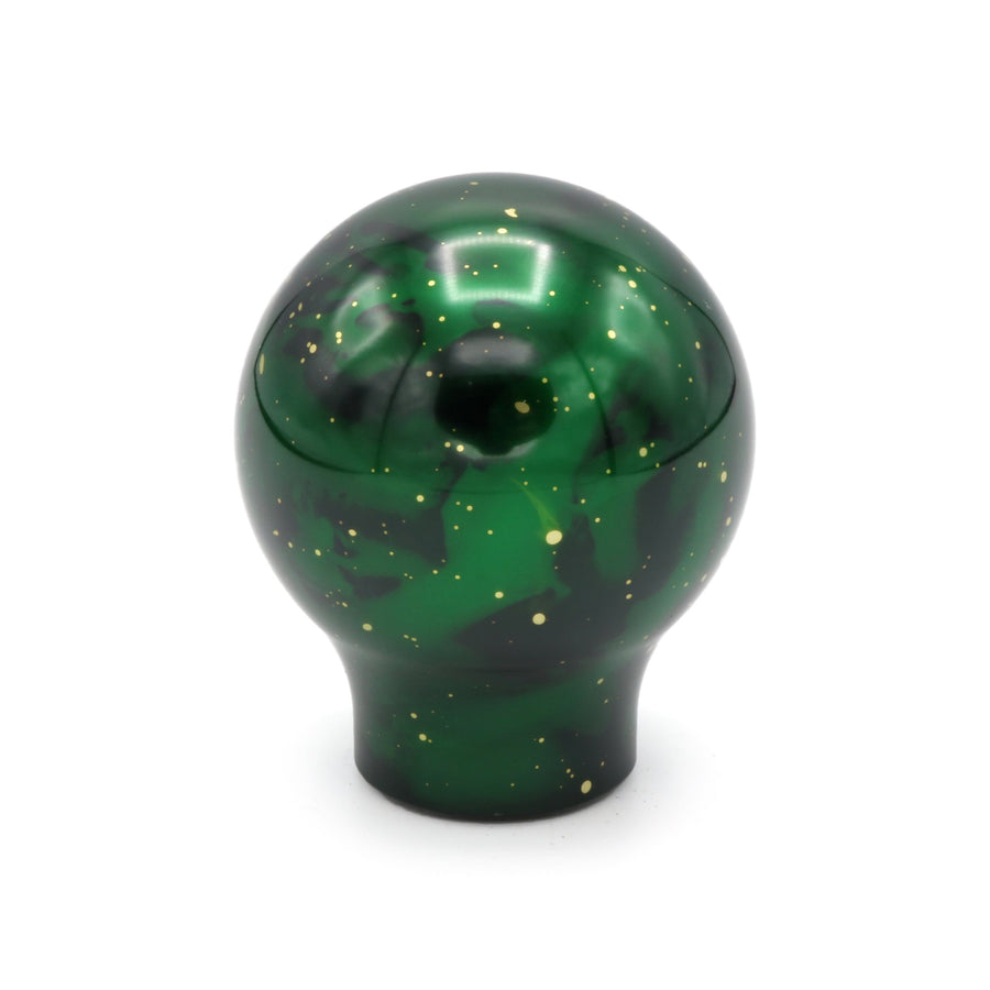 BILLETWORKZ GREEN COSMIC SPACE SHIFT KNOBS