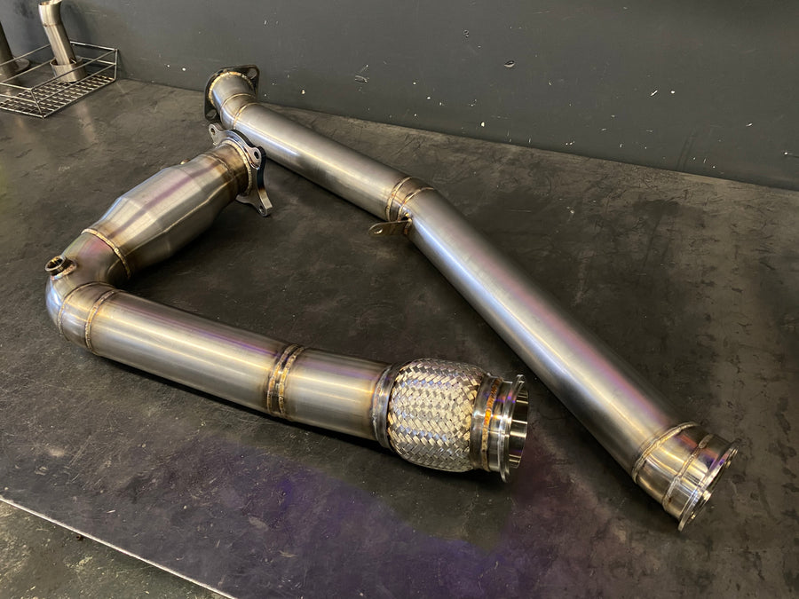 Mint Performance 2015+ Subaru WRX Catted J-Pipe Downpipe