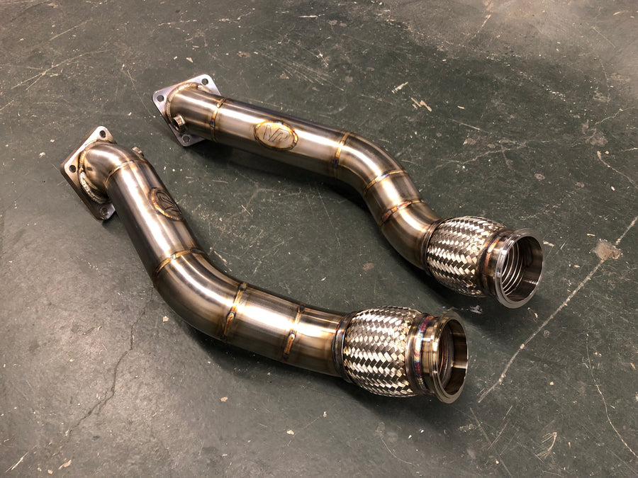 Mint Performance Audi B5 S4 Race Downpipes 2.7t k03/k04