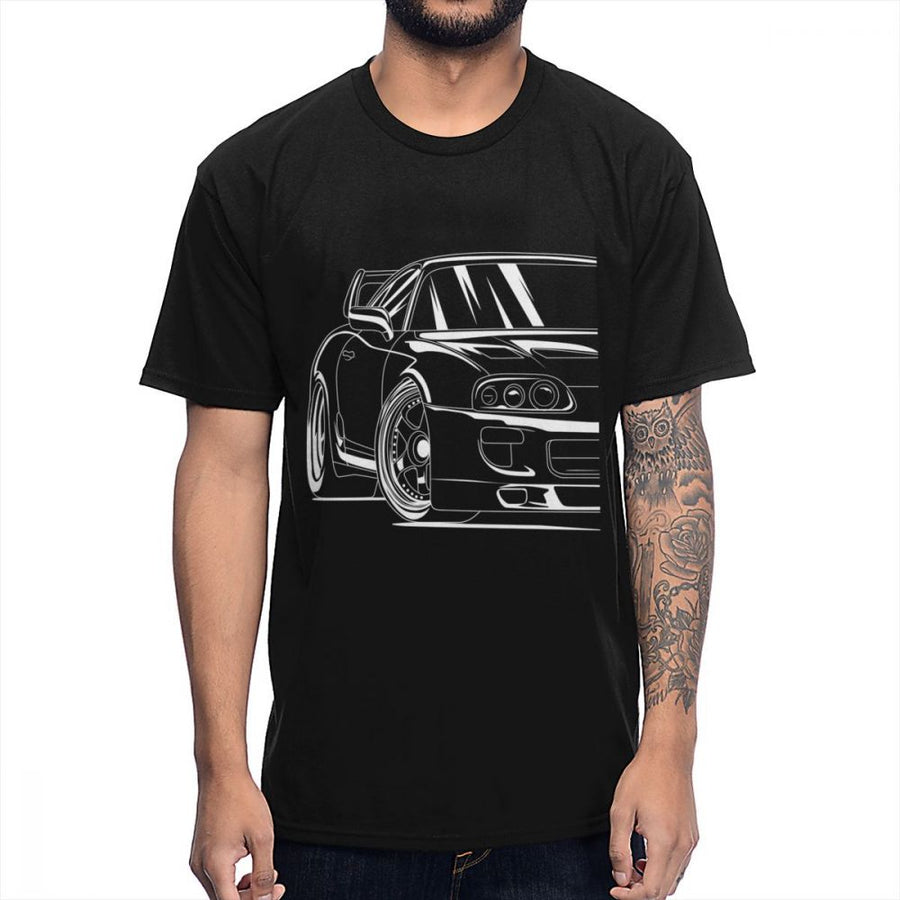 Supra Outlined T Shirt