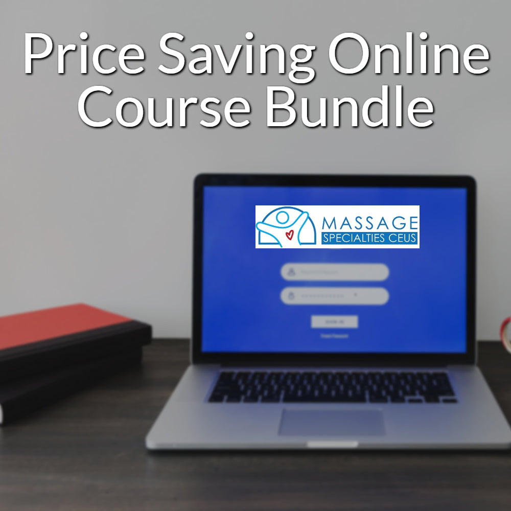 YOUR STATE MASSAGE LICENSE RENEWAL Approved 12 CEU Renewal Online Course Bundle