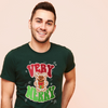 BB GRINCH (GREEN TEXT) -- UNISEX TEE