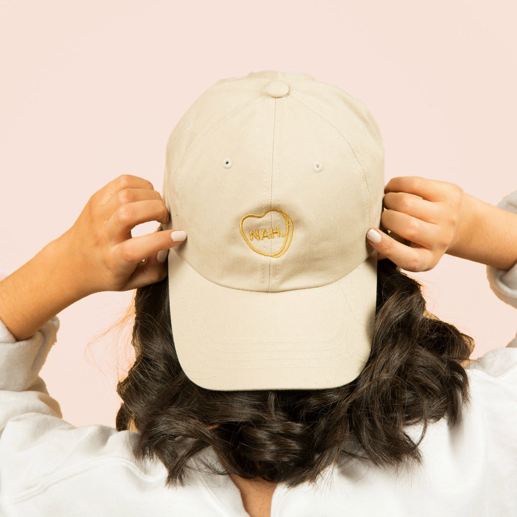 NAH. HAT - GOLD EMBROIDERY
