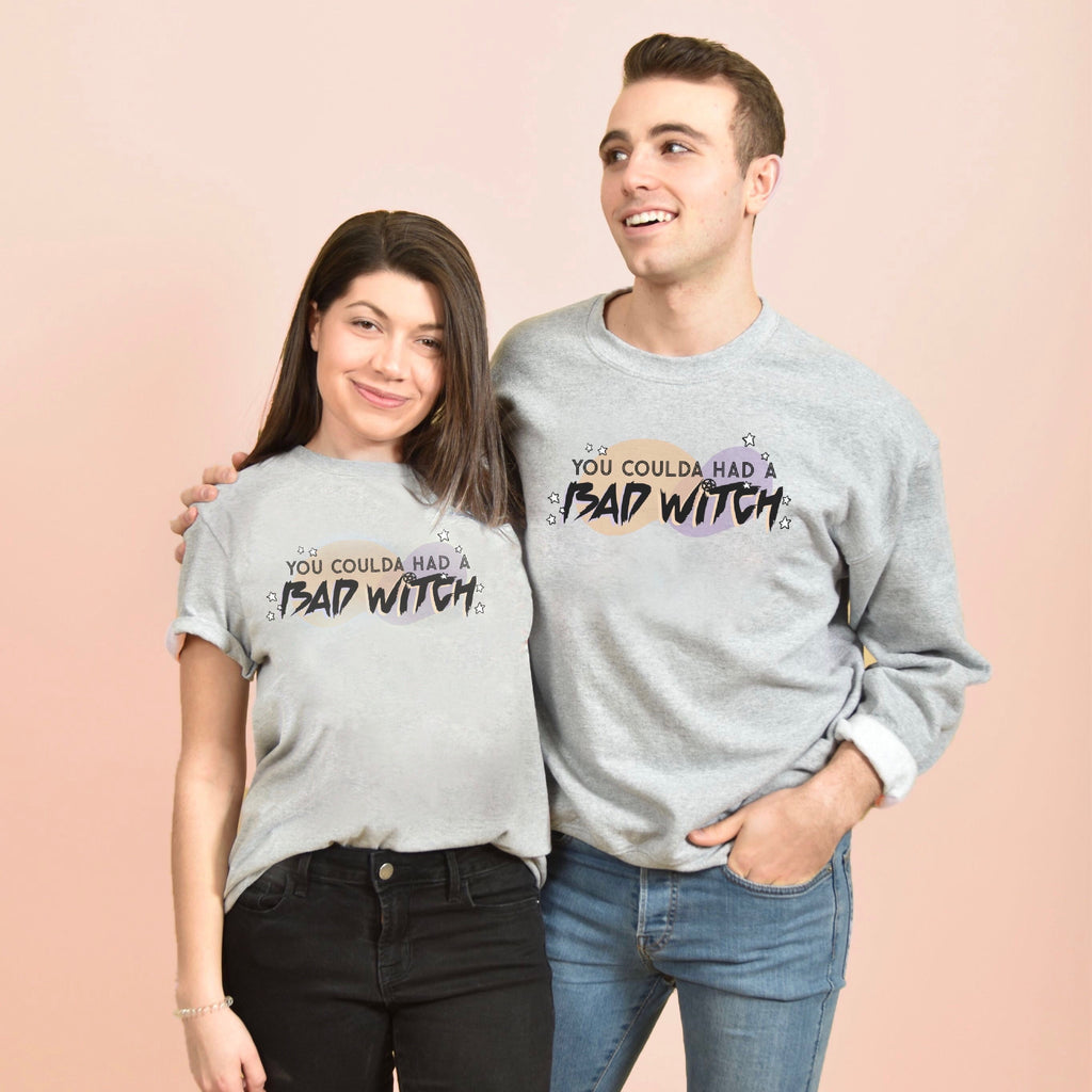 BAD WITCH - MOMSCO. X FD UNISEX CHAMPION CREW