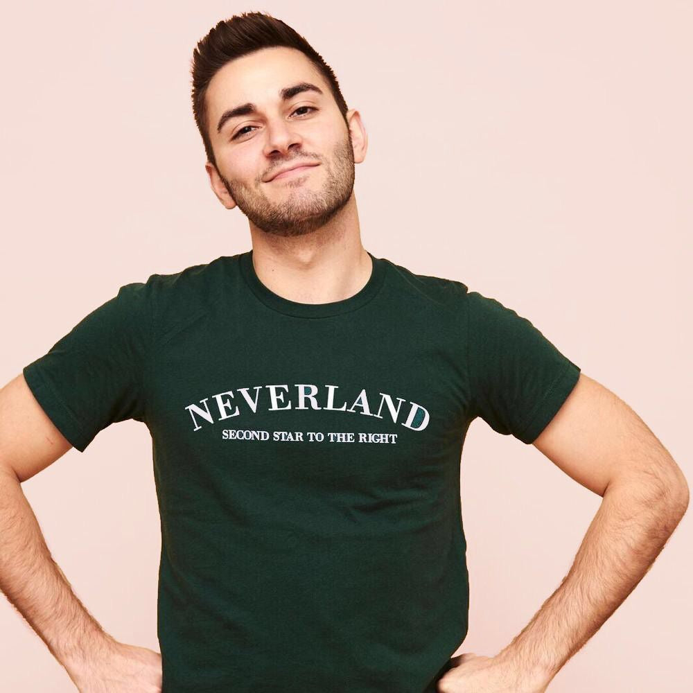 NEVERLAND x DREAMER DESTINATIONS UNISEX TEE