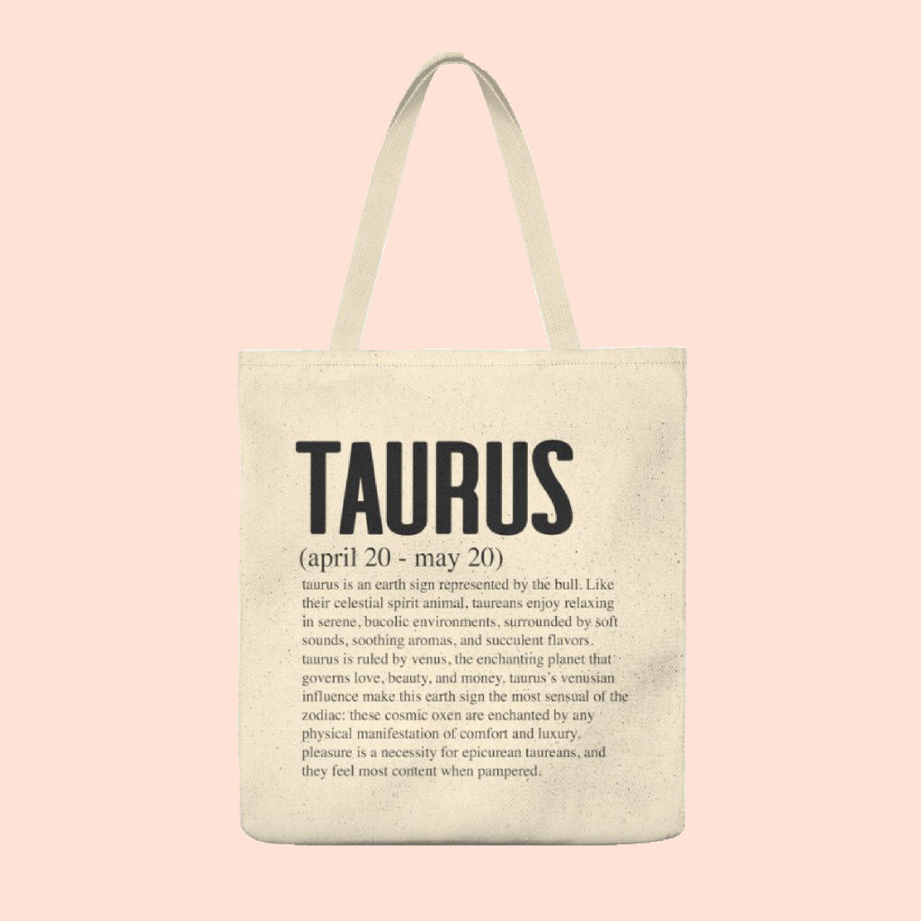 TAURUS (ZODIAC COLLECTION) TOTE