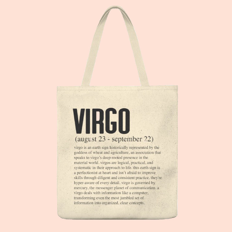 VIRGO (ZODIAC COLLECTION) TOTE