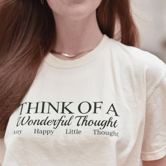 HAPPY LITTLE THOUGHTS -- UNISEX TEE