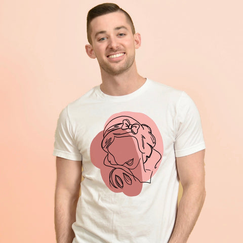 LOST PRINCESS SKETCH -- UNISEX TEE