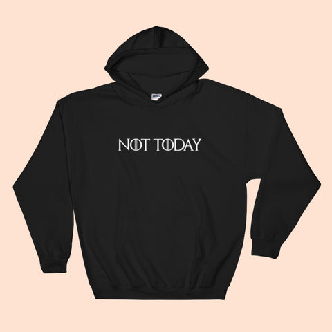 NOT TODAY - BLACK IPHONE CASE