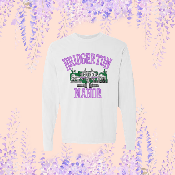 BRIDGERTON MANOR -- UNISEX LONG SLEEVE