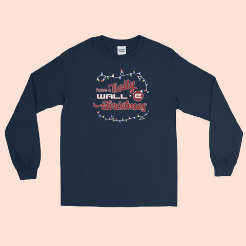 MERRY CHRISTMAS LIZZIE MCGUIRE - NAVY LONG SLEEVE