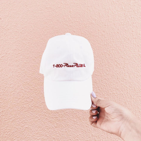 NAH. HAT - RED EMBROIDERY