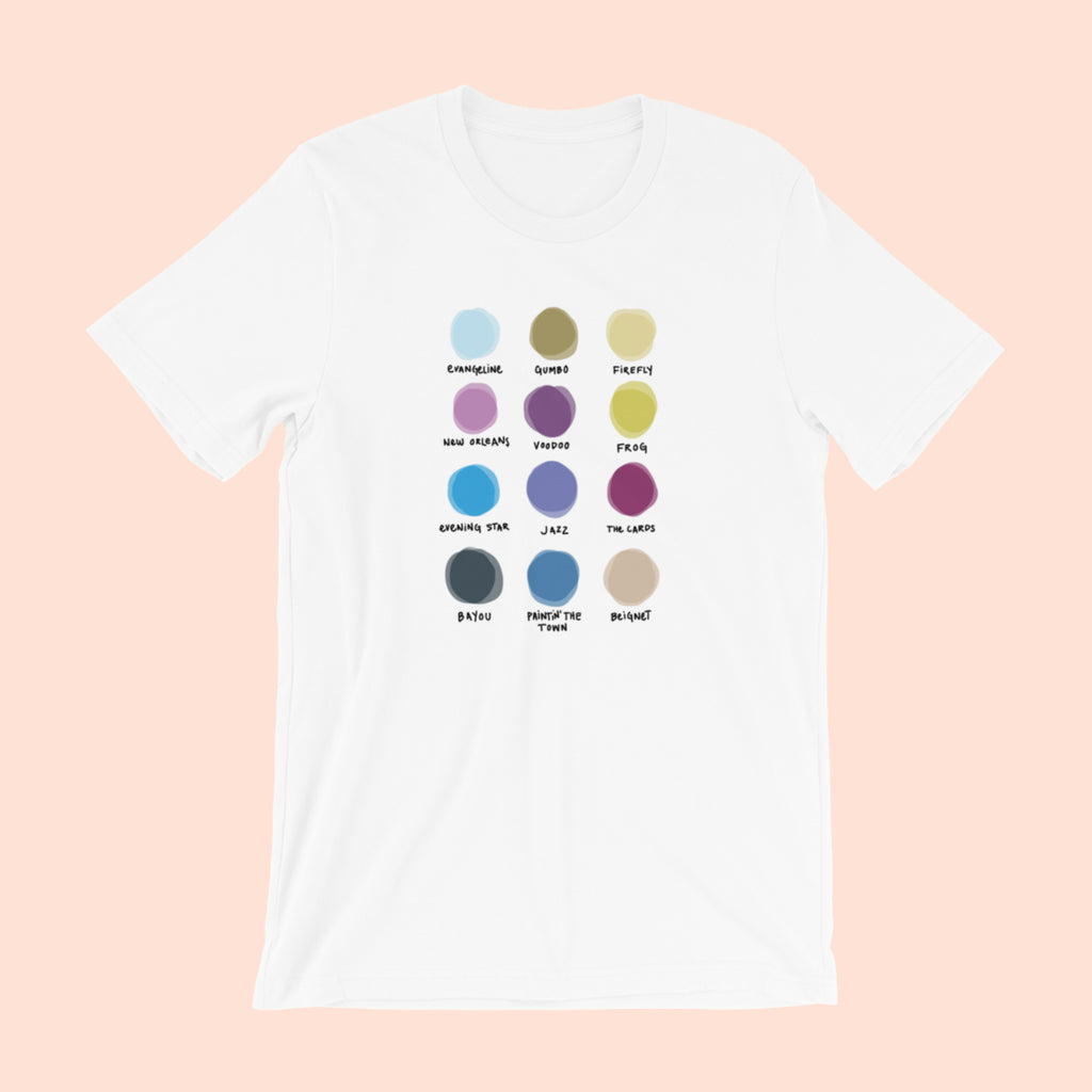 DOWN THE BAYOU x WORLD OF COLOR -- UNISEX TEE