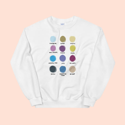 NEVERLAND x WORLD OF COLOR -- UNISEX CREW