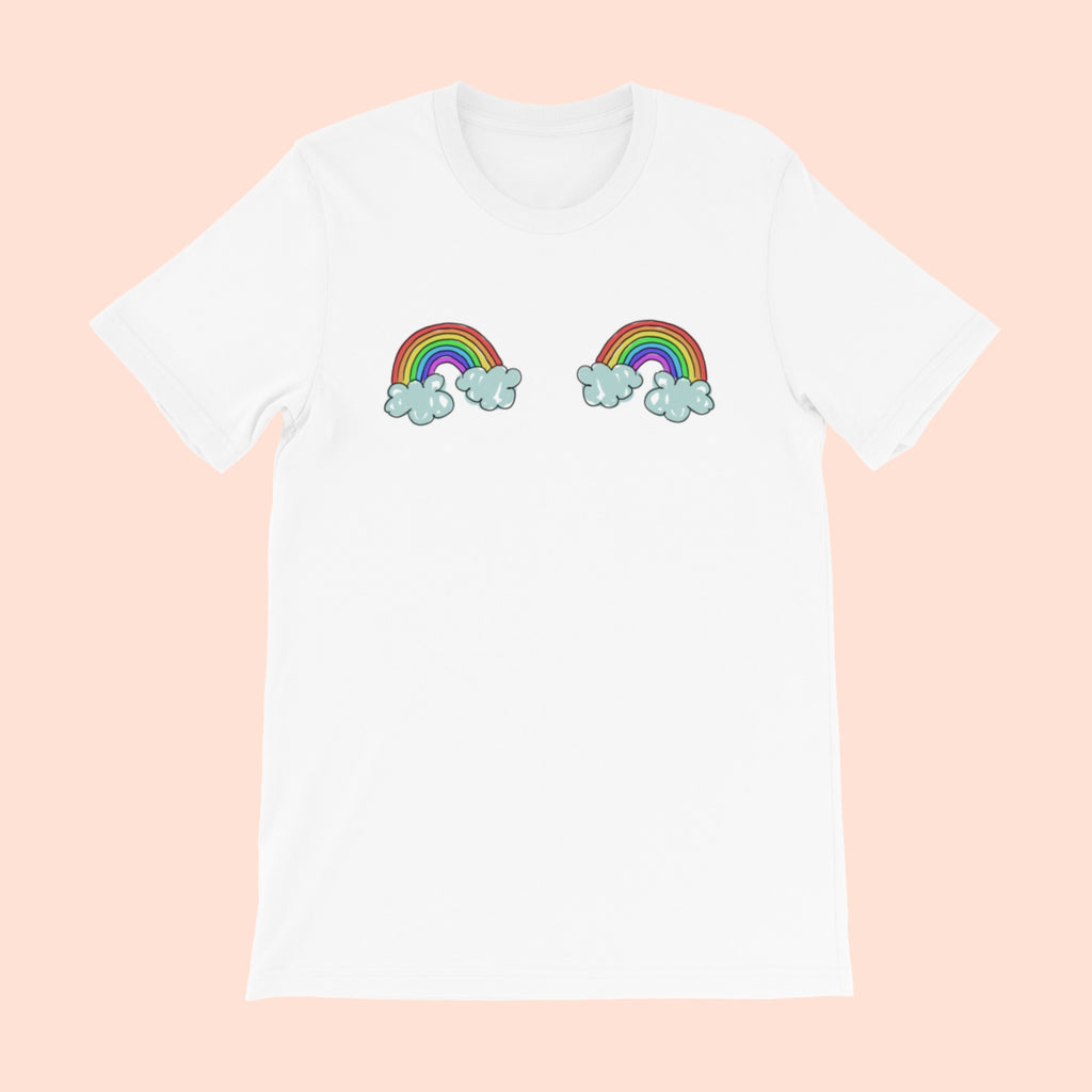 DOUBLE RAINBOWS - UNISEX TEE