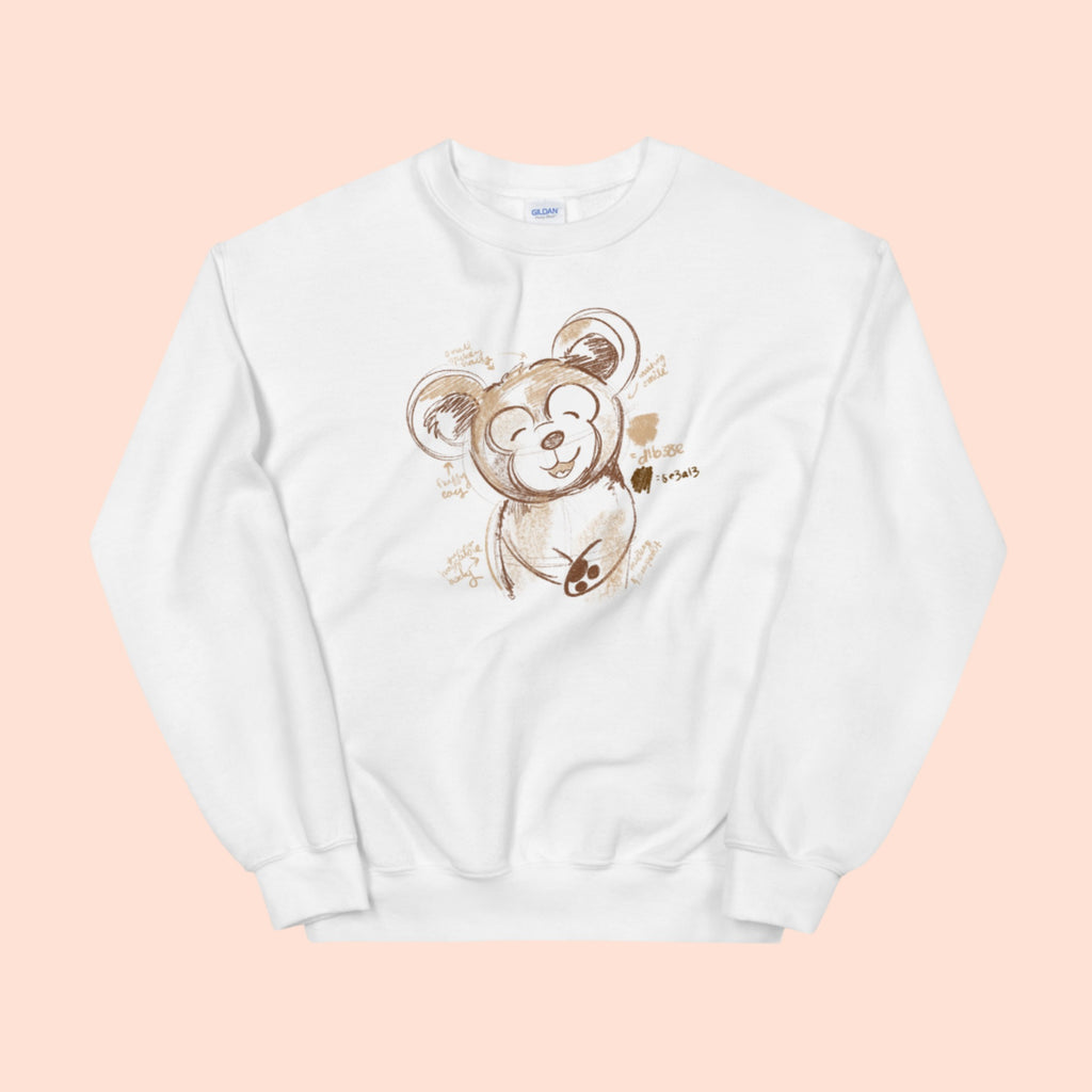 TEDDY FURRY FRIEND - UNISEX CREW