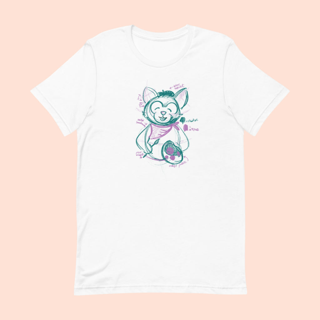 KITTY FURRY FRIEND - UNISEX TEE