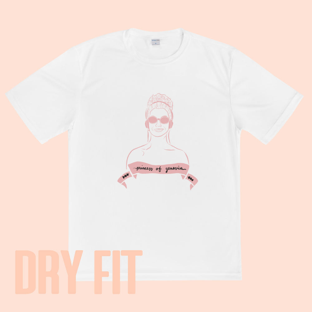 PRINCESS OF GENOVIA - DRYFIT TEE UNISEX