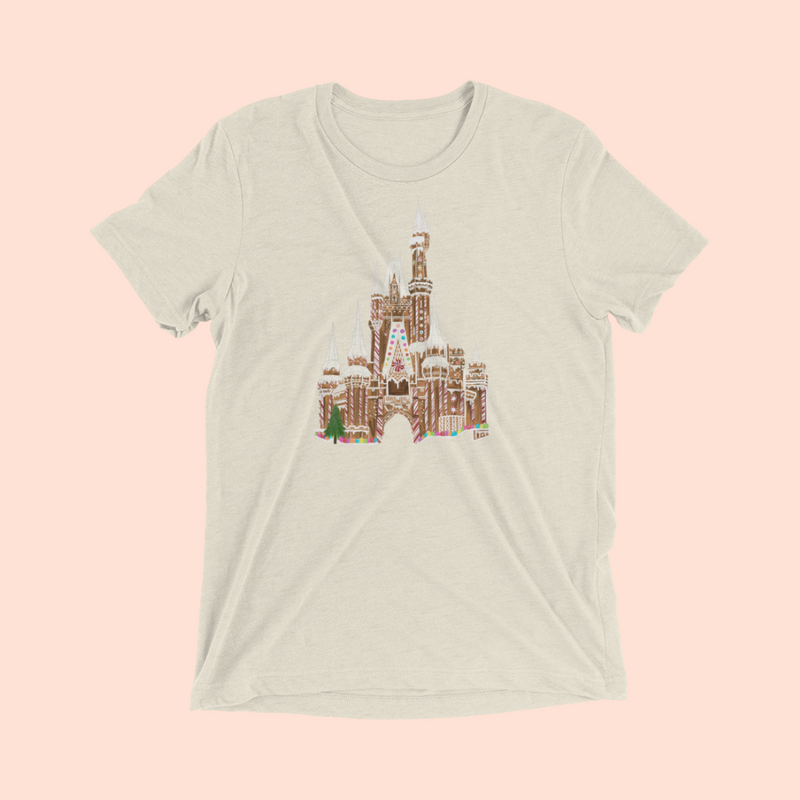 '72 GINGERBREAD CASTLE -- UNISEX TEE