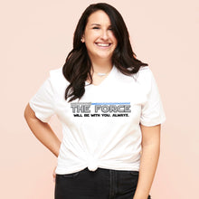THE FORCE (WHITE) -- UNISEX TEE
