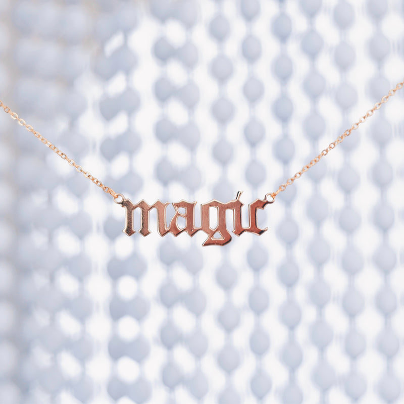 OWN YOUR MAGIC - GOLD PLATED NECKLACES