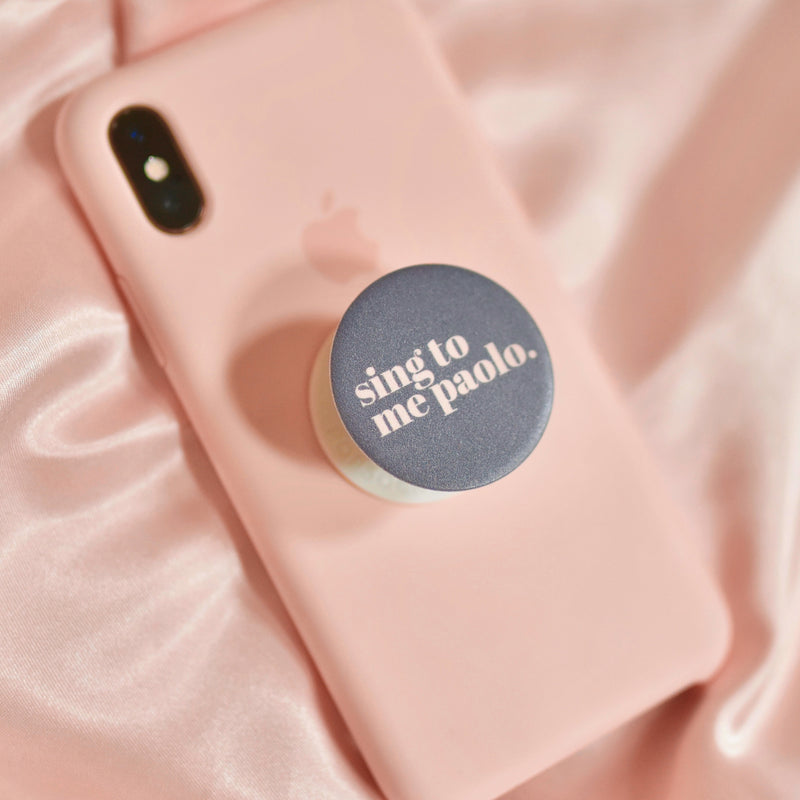 SING TO ME PAOLO POPSOCKET