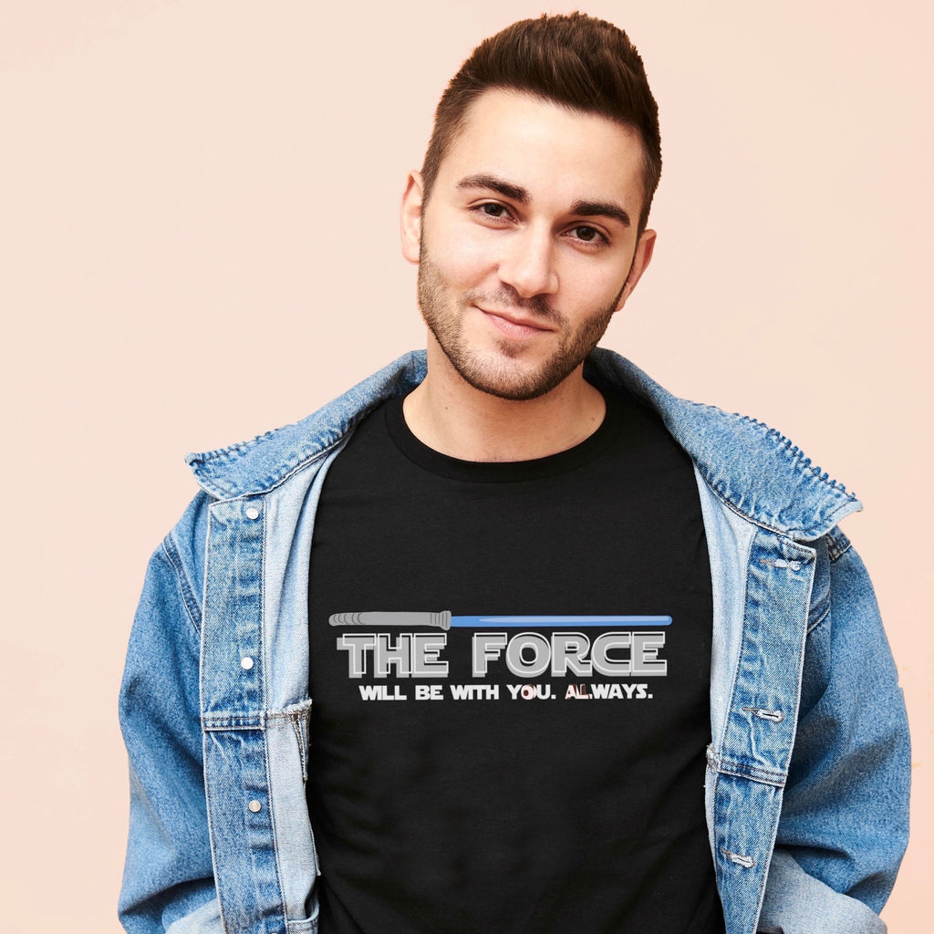 THE FORCE (BLACK) -- UNISEX TEE