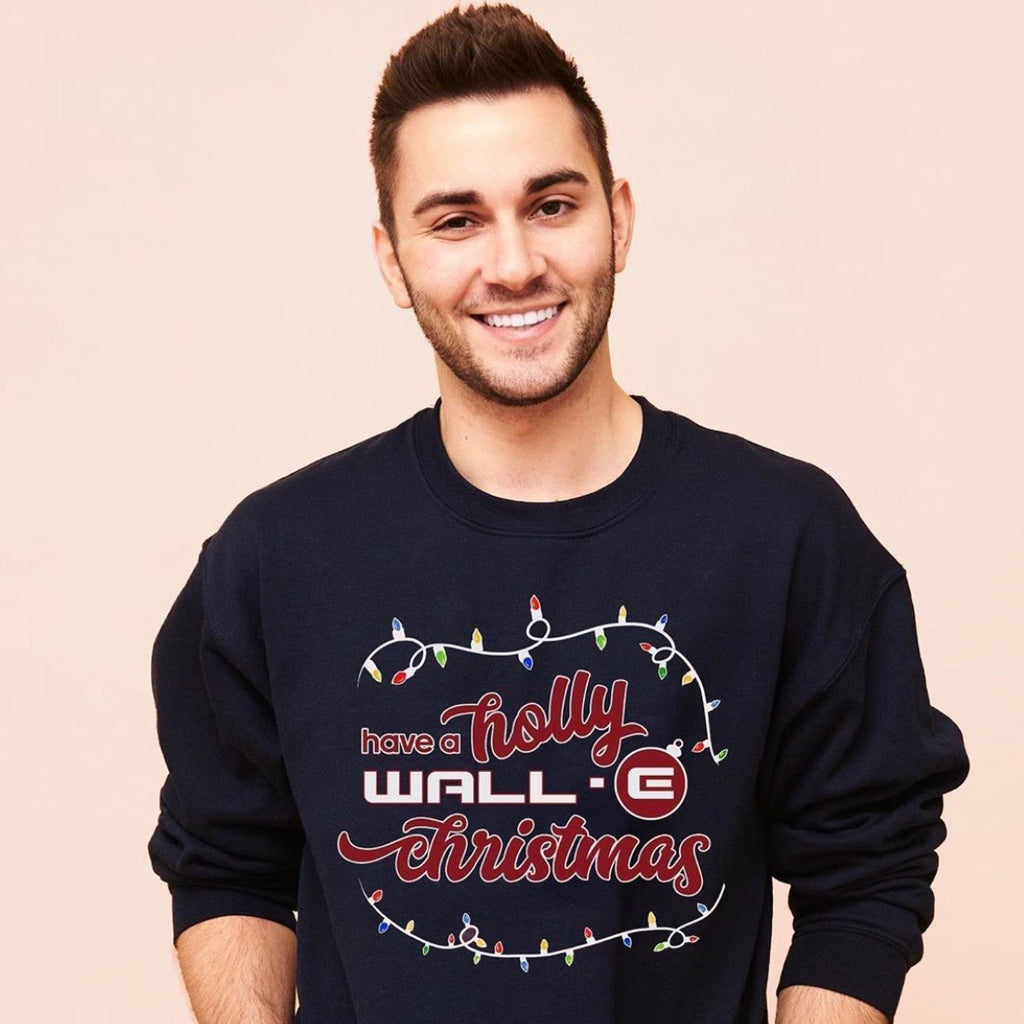 HOLLY WALL-E CHRISTMAS - UNISEX CREWNECK